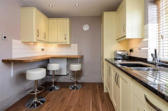 Luxury fitted breakfast kitchen