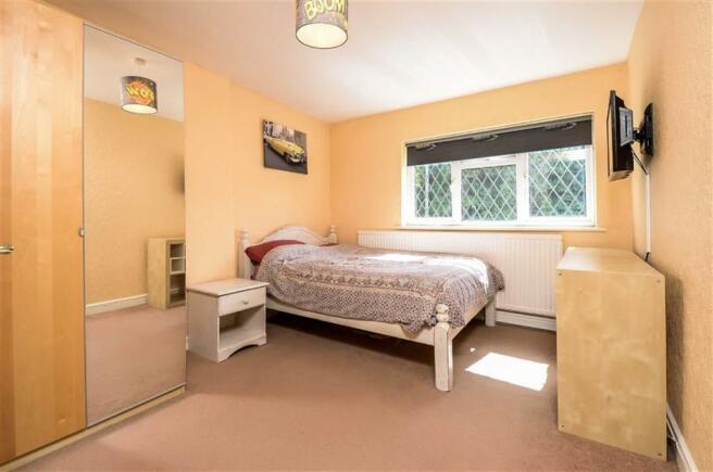 Bedroom 2 (front) with en-suite shower
