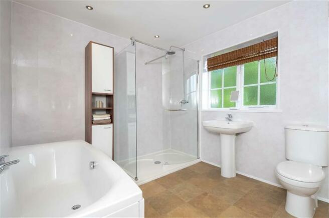 Luxury shower room  (rear)