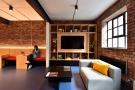 Sofa and screen