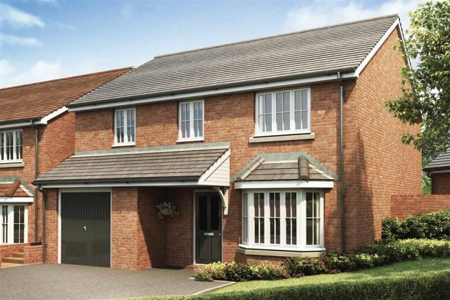 Artists impression of a typical Downham home