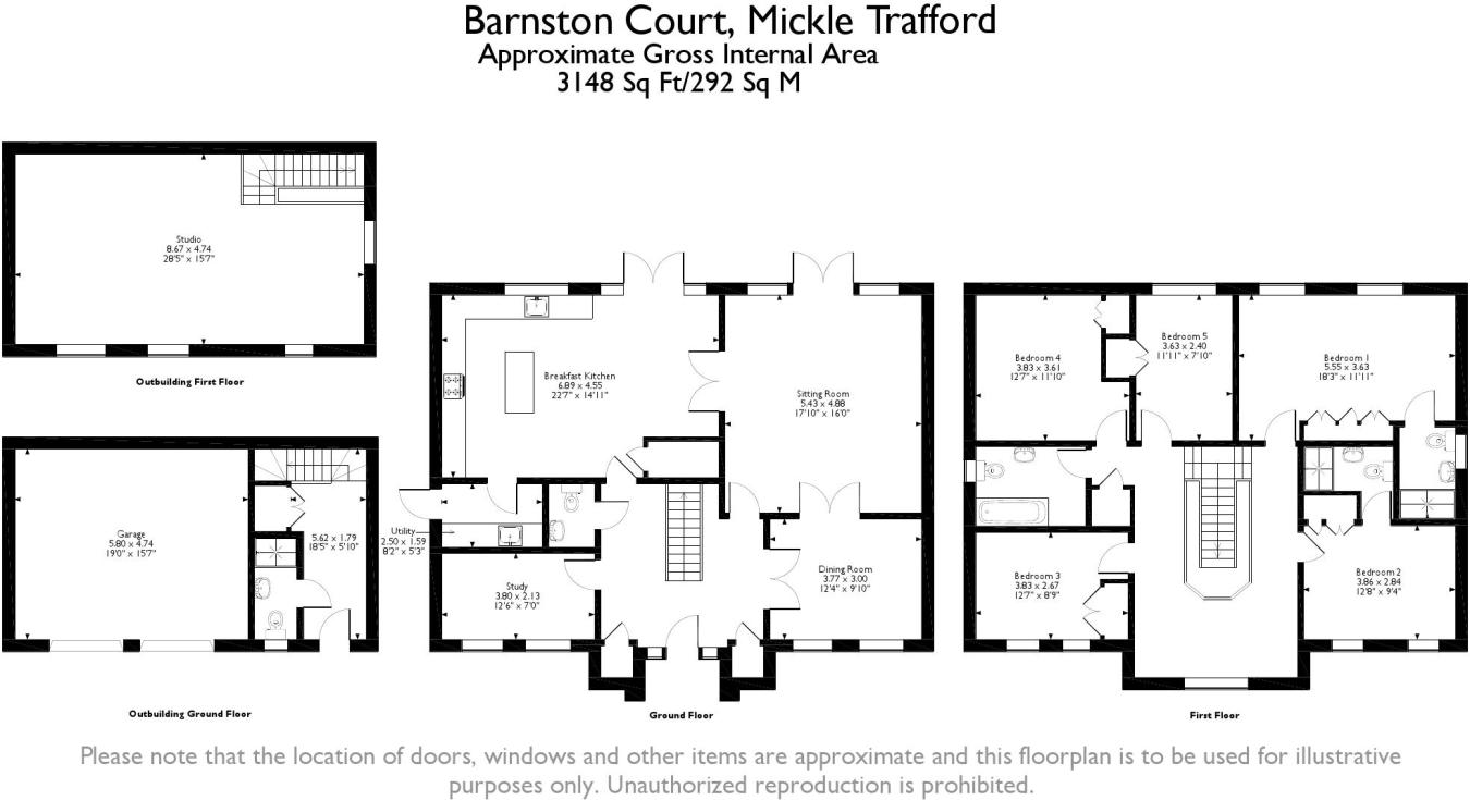 9b2d0cec4 5 bedroom detached house for sale in Mickle Trafford