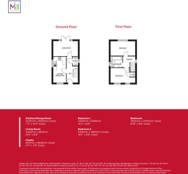The Ashton Floorplan