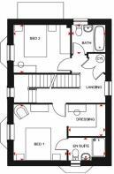 Hertford FF floor plan