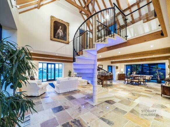 Uplit Staircase