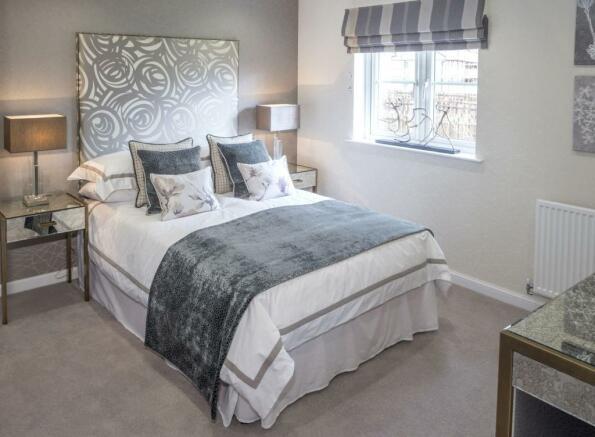 Typical Drummond bedroom