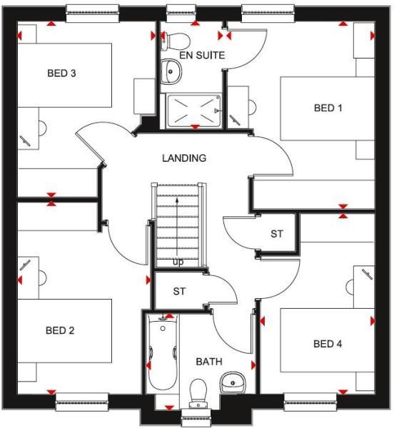 Fenton first floor