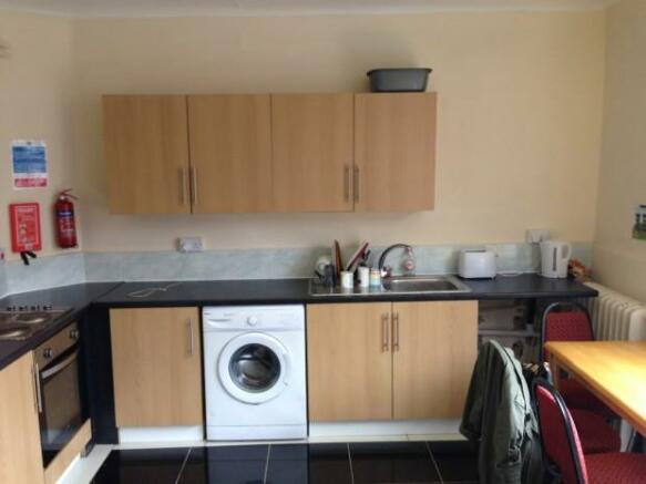 Large shared kitchen