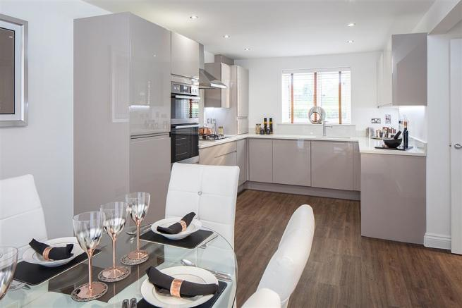 Image shows a typical Taylor Wimpey home