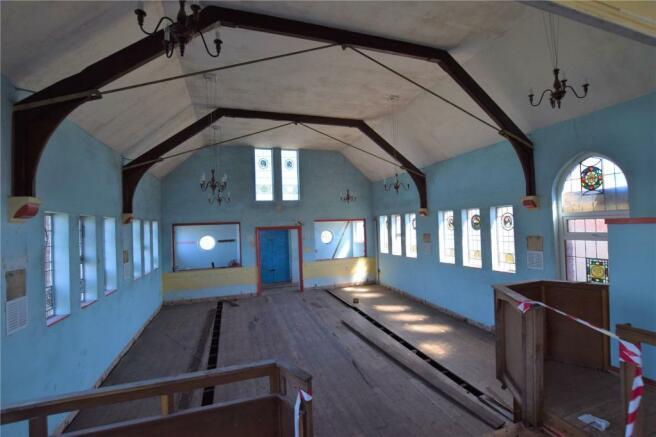 Former Church Area
