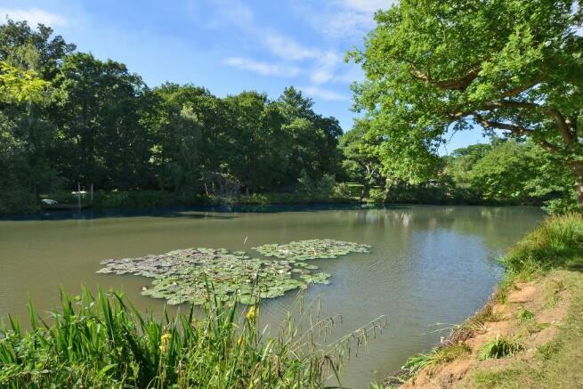 Residents lake