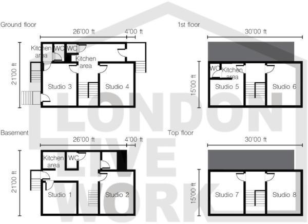 Floor Plan Camden Rd