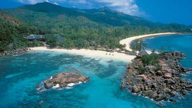 Mahé coastline