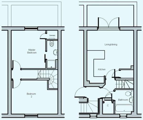 Pendarves Floorplan