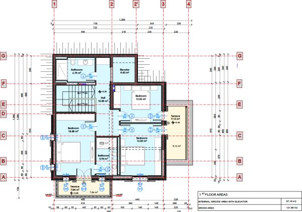 1st floor (duplex)