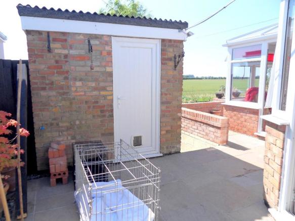 BRICK SHED & TERRACE