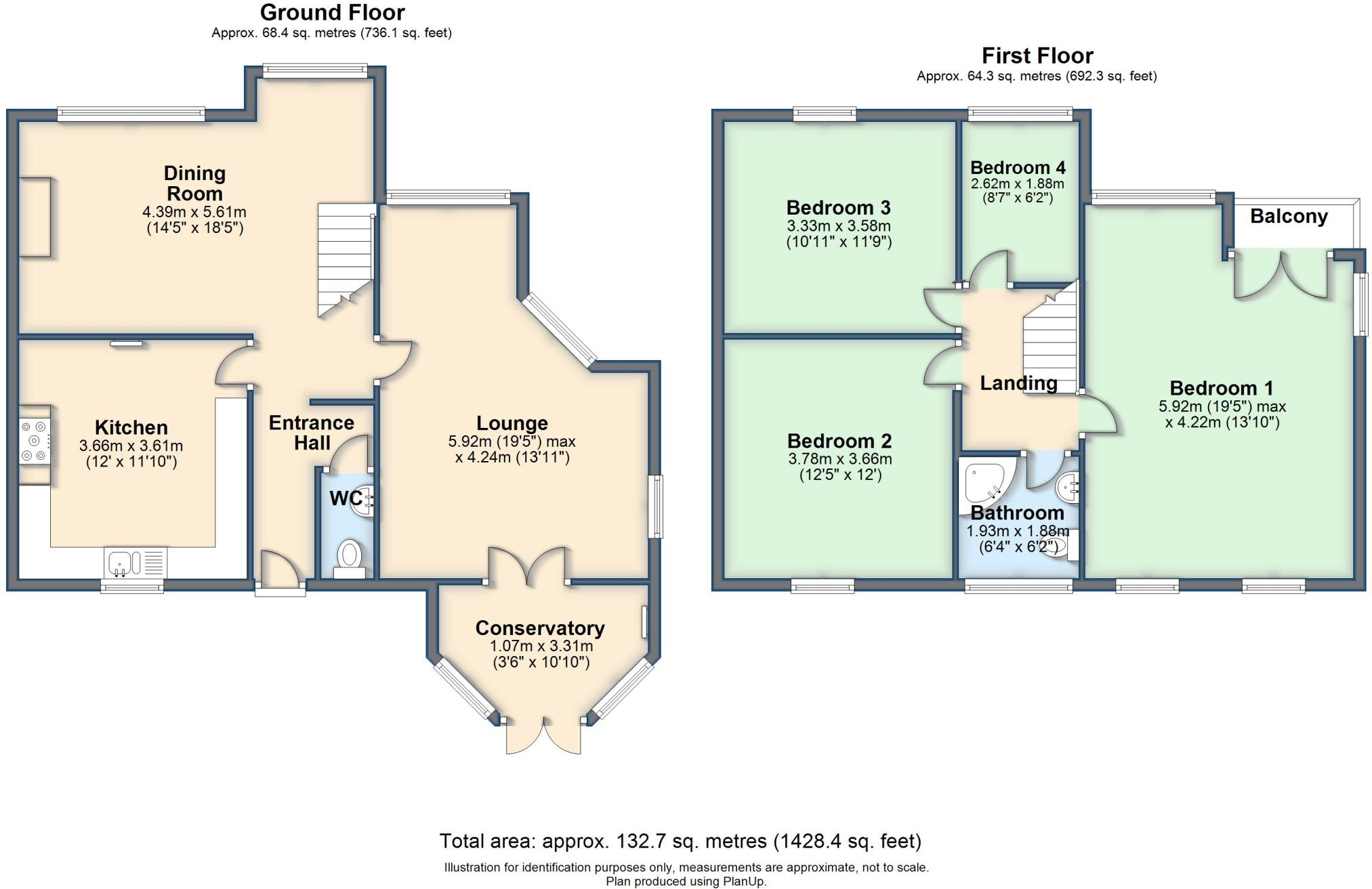 4 bedroom end of terrace house for sale in Villas Road, Ambergate ...