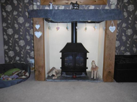 Gas Fire Feature