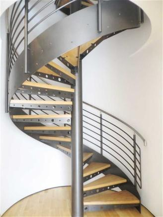 Spiral Staircase to Upper Floor