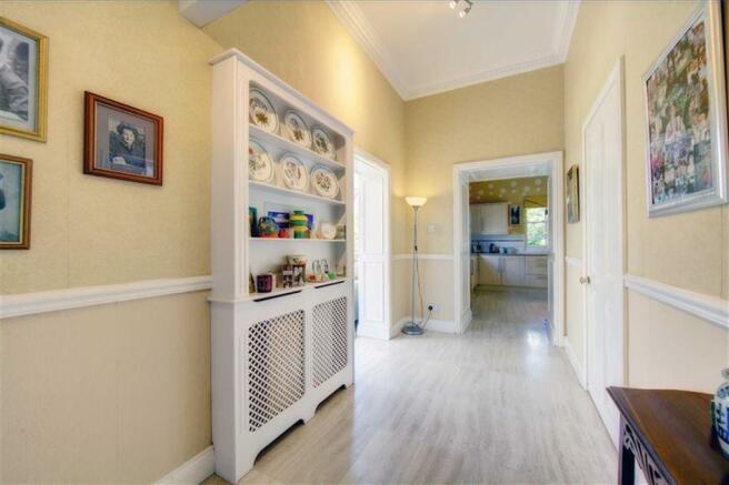 Rear Hallway/Reception Area