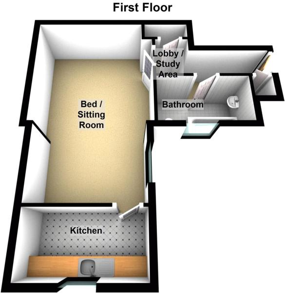 Floor Plan Resi 1