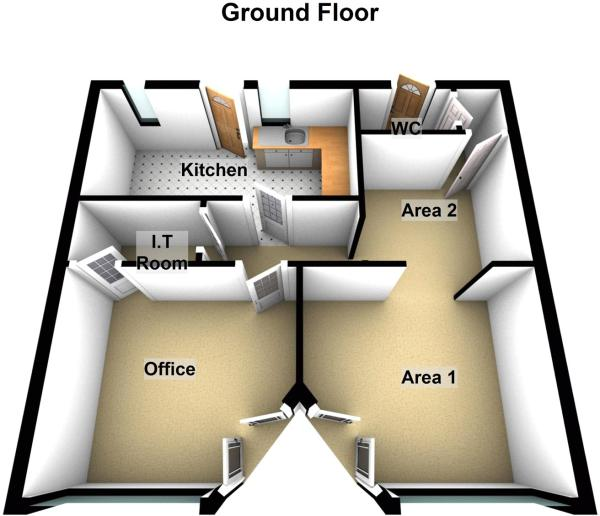 Floor Plan Retail