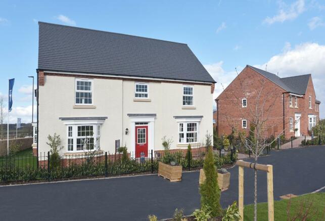 Show Homes at David Wilson Homes at Mickleover