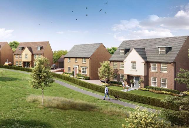 David Wilson Homes at Mickleover