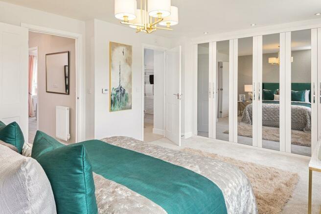 The Henwick bedroom