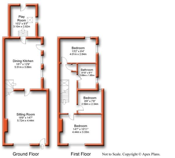 @1 Stone Bowers Cottage Morton On Swale Floor Plan