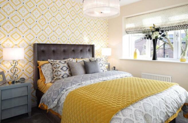 Marford Master Bedroom - Canalside