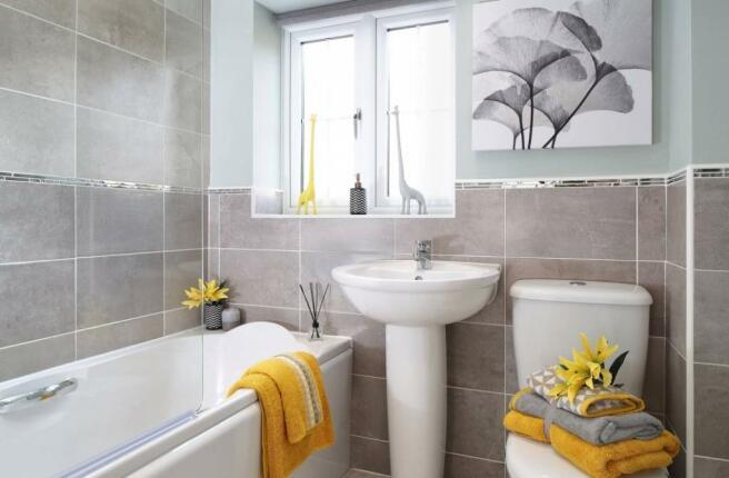 Marford Bathroom - Canalside