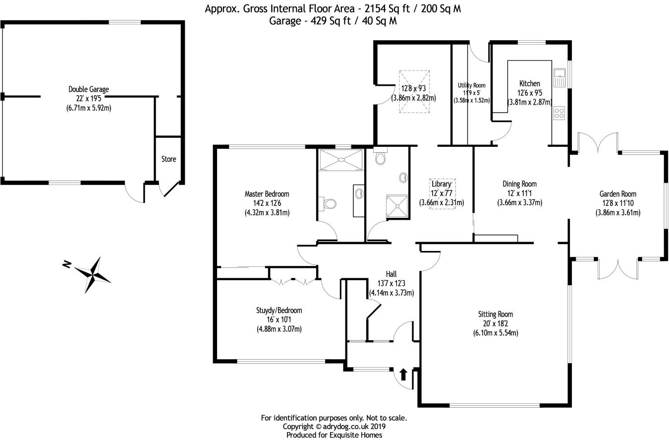 3 bedroom detached bungalow for sale in Warrington Road
