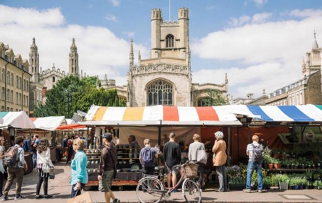 Cambridge's market