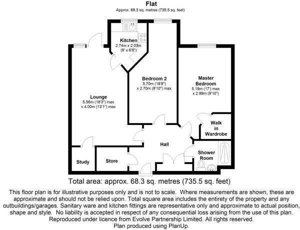 floorplan 4 Lawn Court, Longsite Lane, Harwood, Bo