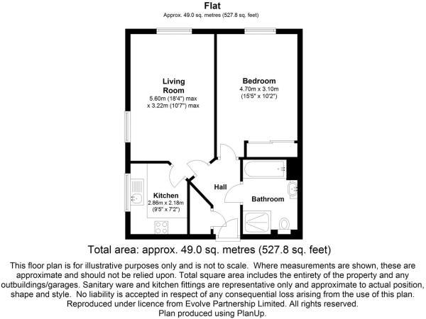 floorplan 29 Malpas court, Malpas road, Northaller
