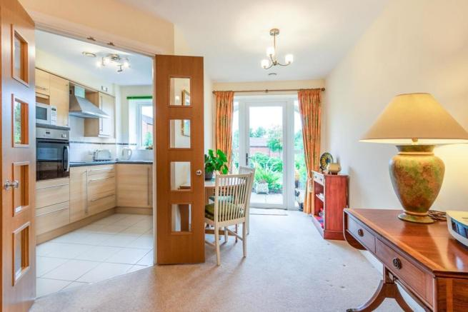 Doors through to Kitchen & out to the Gardens.jpg