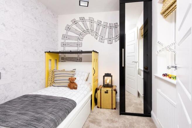 Alderney single bedroom