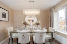 Typical Taylor Wimpey Lavenham dining room