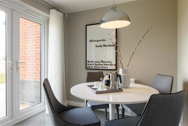 Lavenham show home at Overton Manor