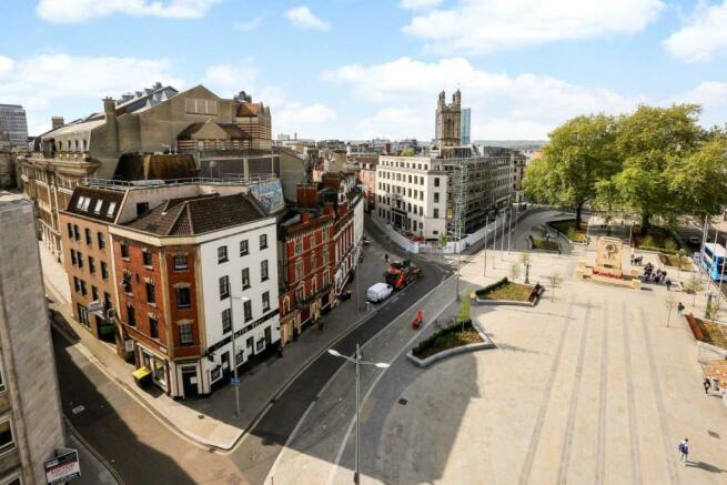 City centre location