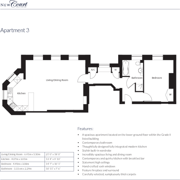 Apartment 3 layout
