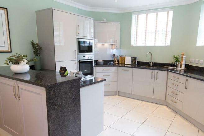 Typical grey kitchen
