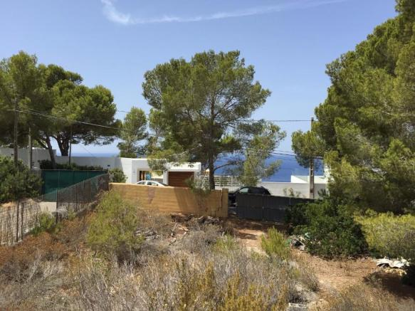 Sea View from plot