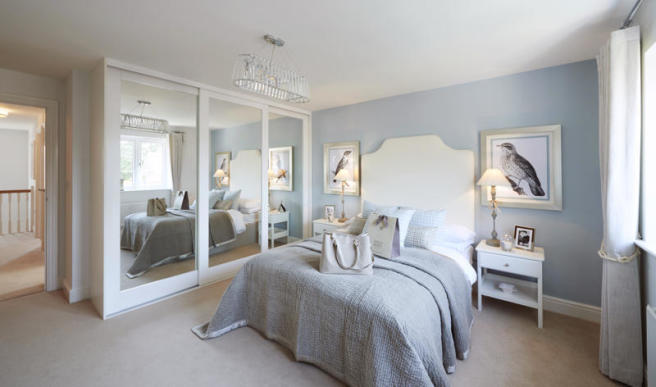 Image depict's a typical Taylor Wimpey home