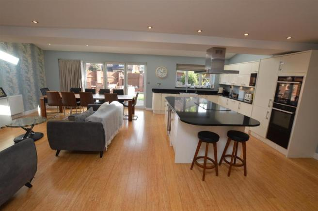 Open plan Kitchen/Living/Dining Room