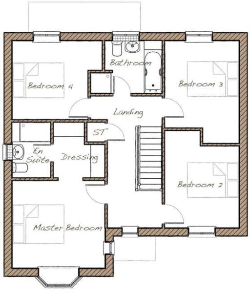 The Farnhill - First Floor