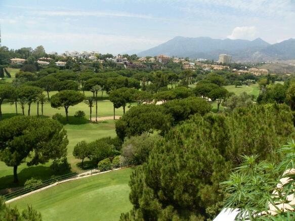 mountain and golf vi