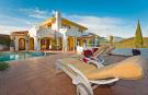 Villa and pool