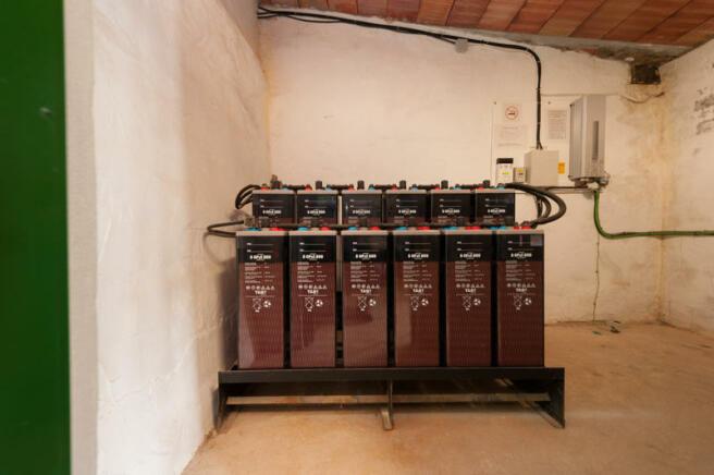 Solar panel batterie